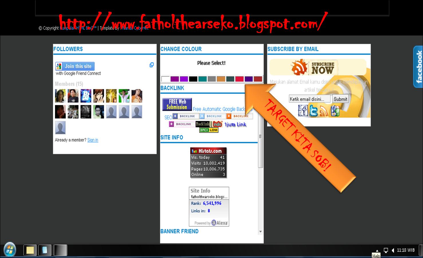 membuat tombol ganti warna backgroun di blog - Damashadi109