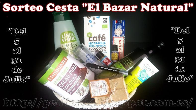 """Sorteo """"El Bazar Natural"""""""