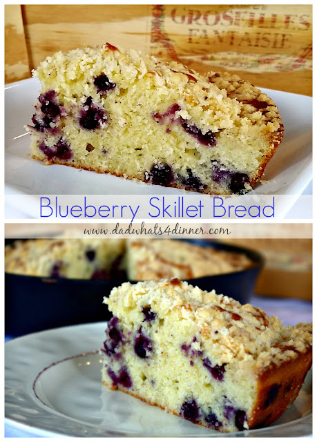blueberry skillet-bread-with-streusel-topping