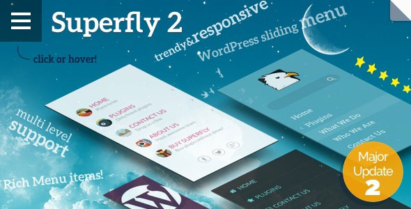 Free Download Superfly V2.1.5 Responsive Menu WordPress Plugin