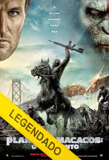 Planeta dos Macacos: O Confronto – Legendado