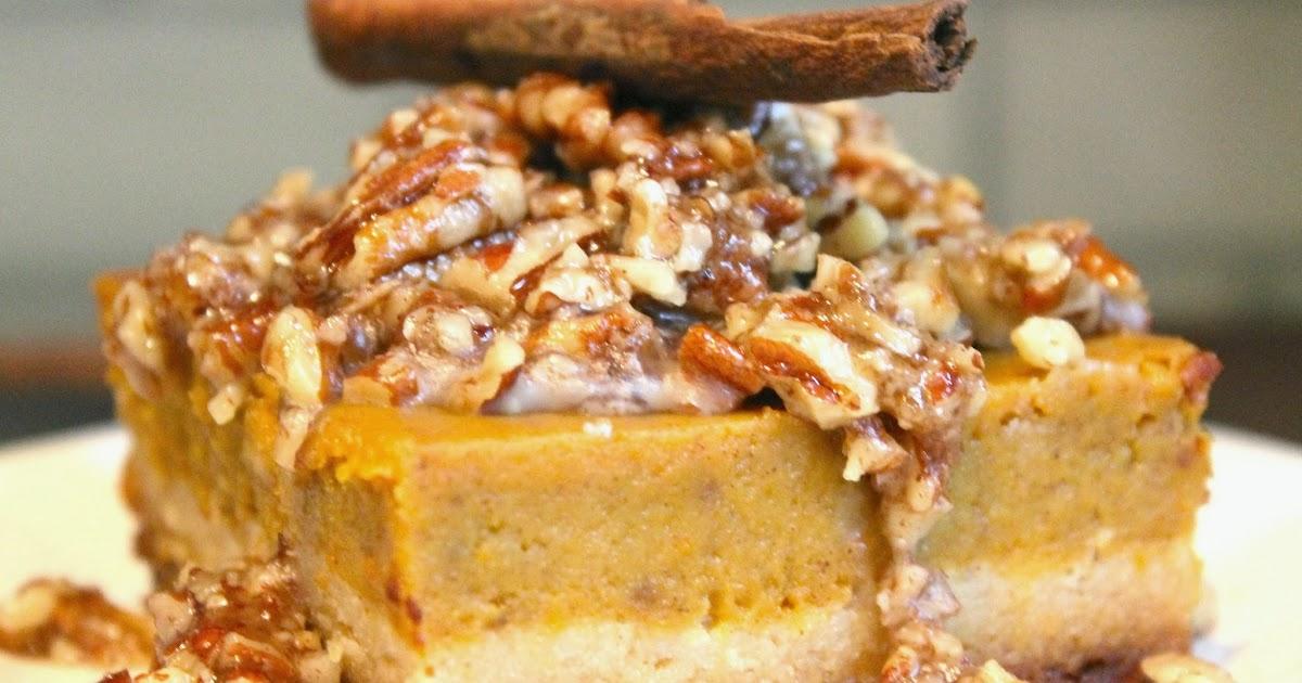 The Almond Flower: Honey Pecan Pumpkin Pie Bars (Gluten ...