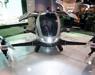 Empresa chinesa apresenta drone para transporte de pessoas