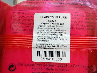 Yves Rocher Frambuazlı Organik Sabun