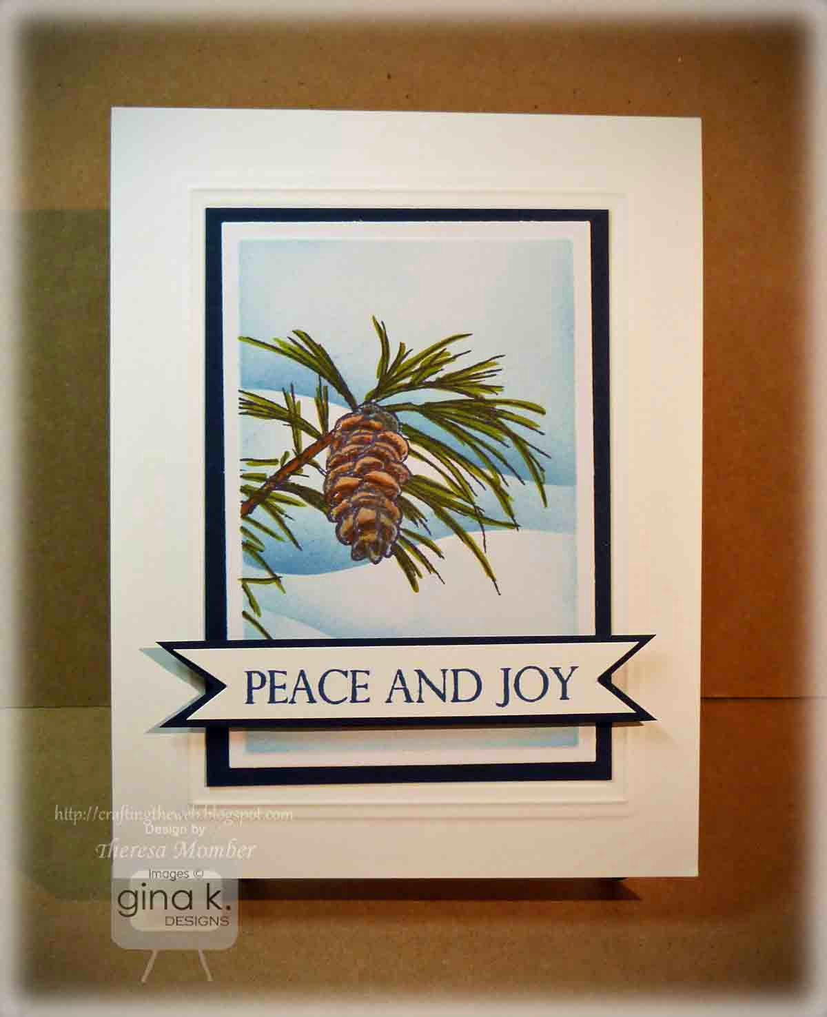 Crafting The Web Peace And Joy Video And Tutorial