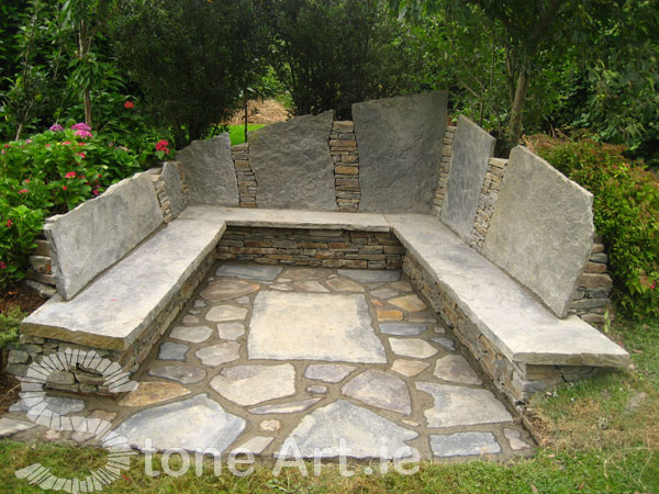 Stone Art Blog: More on Stone Benches