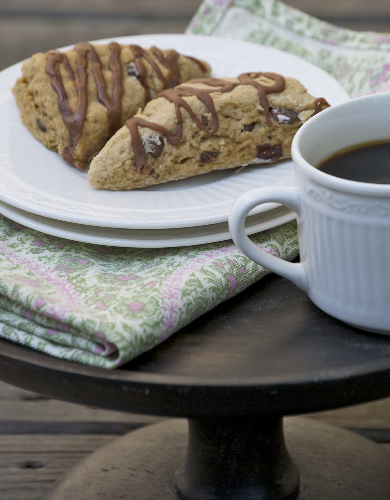 The Culinary Enthusiast: Mocha Scones
