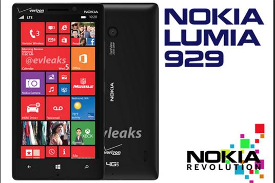 Lo nuevo de Nokia Lumia 929 Icon con fecha