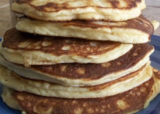 gluten-free grain-free coconut flour pancakes