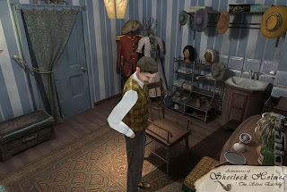 Adventures Of Sherlock Holmes The Silver Earring wii