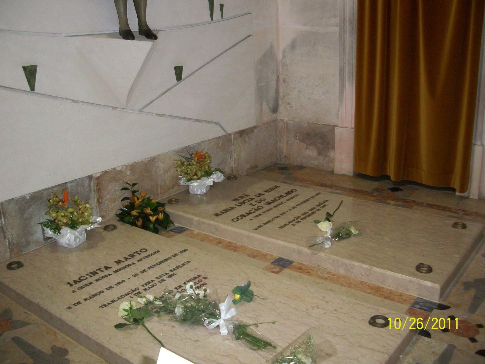 Túmulos de Jacinta e Ir. Lúcia