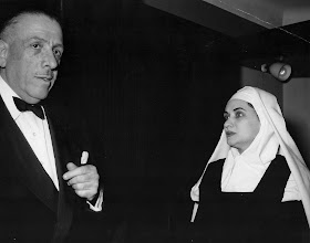 Francis Poulenc with the first Blanche in Carmelites