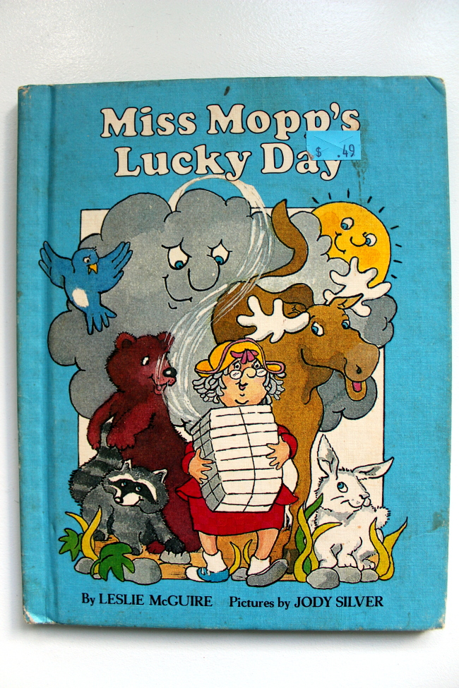 Miss Mopp's Lucky Day