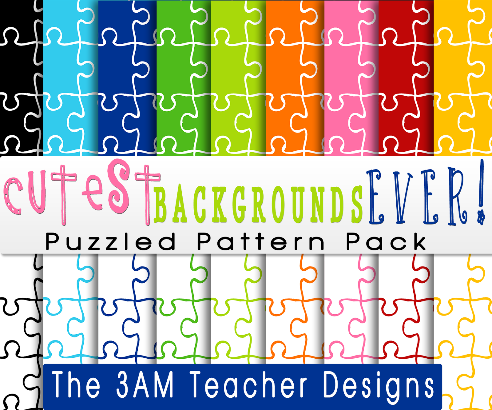 Autism Awareness Graphics/Clipart & TWO Fun Friday FREEBIES!!