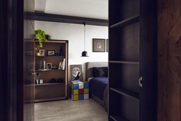 apartamento piso de estilo industrial