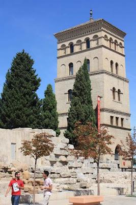 Múdejar Tower of Zuda in Zaragoza