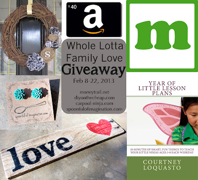 """Whole Lotta Family Love"" Giveaway!"