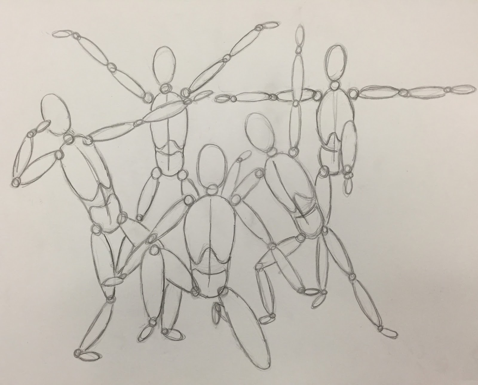 Line Art Figures : Kids art market oval figure drawing