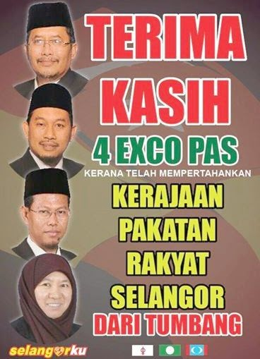 THANKS 2 4 PAS EXCOS! THEY R NOT TRAITORS BUT SAVIORS OF PAKATAN RAKYAT RULE ; WHERE AZMIN NOW IS !