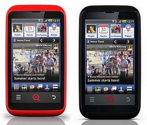 New INQ Cloud Touch and Cloud Q Facebook Phones