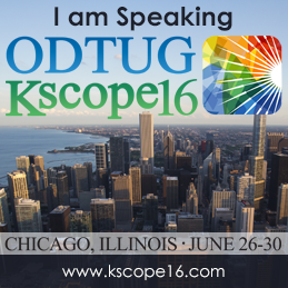 ODTUG Kscope 2016
