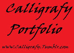 My Calligrafy Porfolio