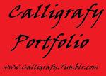 My Calligrafy Porfolio