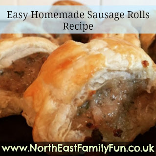 Homemade sausage rolls recipe