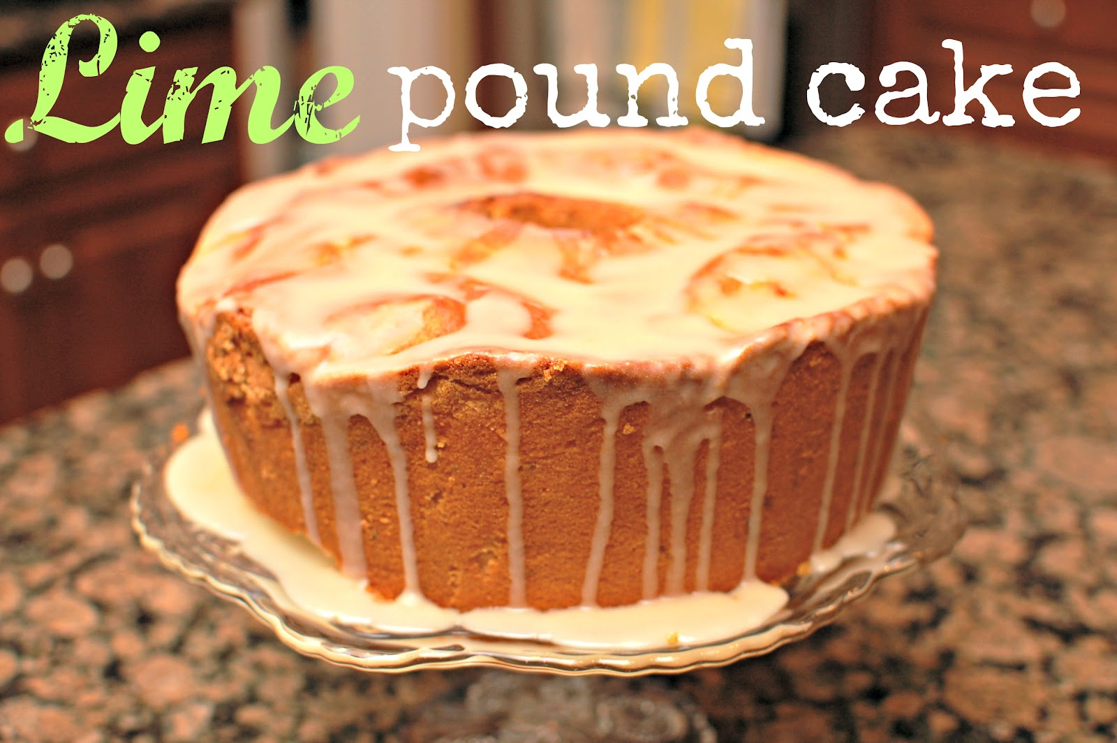 lbs good spoon: Lime Pound Cake