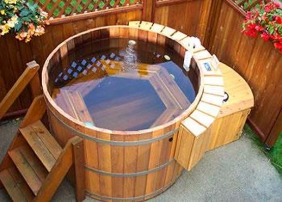 You Can Easily Install This Cedar Tub In Your Garden, Patio Or Backyard  Area And Spoil Yourself With Optimum Comfort. Visit Cedar Tubs For More  Info.