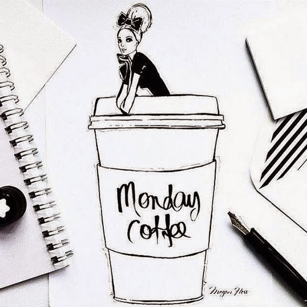 LamourDeJuliette_Monday_Coffee_Drawing_Illustration