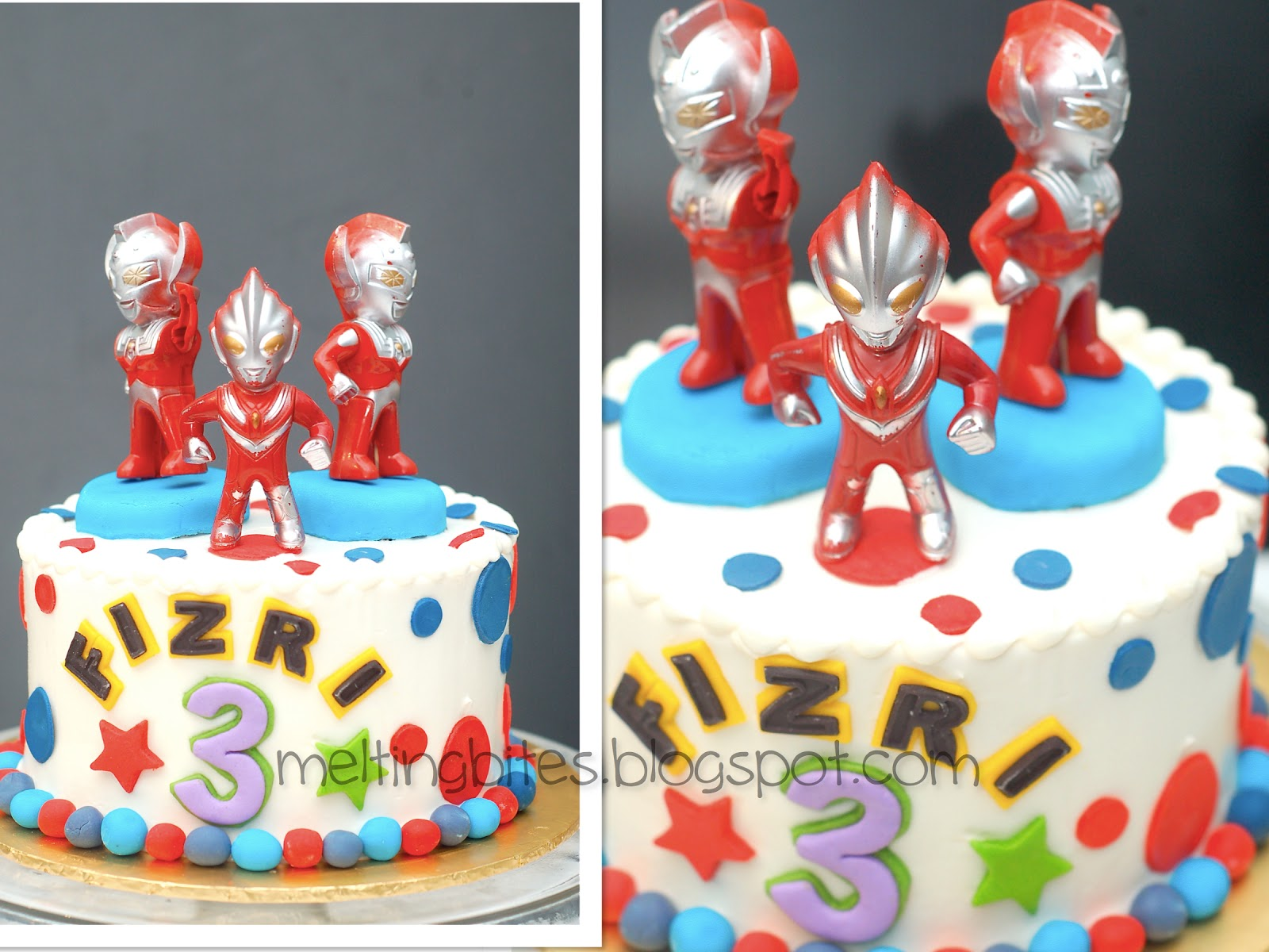 Melting Bites Something Sweet By MeltingBites Ultraman Cake