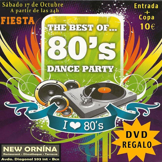 Flyer Fiesta The Best Of 80s