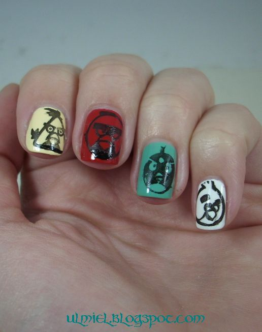 Did someone say nail polish?: Born Pretty Store review: Angry Birds ...