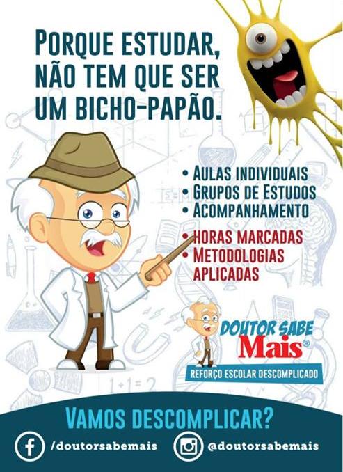 DOUTOR SABE MAIS | REFORÇO ESCOLAR DESCOMPLICADO