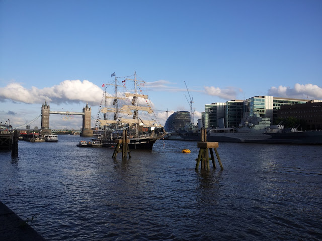 The River Thames view includes Tower Bridge and the HMS Belfast