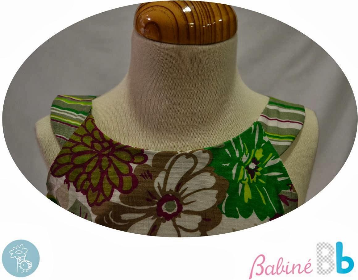 Babiné -Colección Primavera-Verano- Vestido detalle cuello