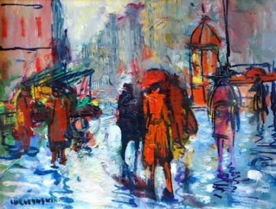 Мечислав Лурчинский, Дождь в Париже, 1950-е