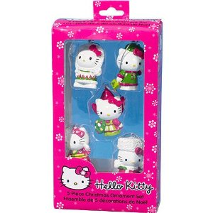 Hello Kitty Christmas  hanging ornament for Christmas tree decoration