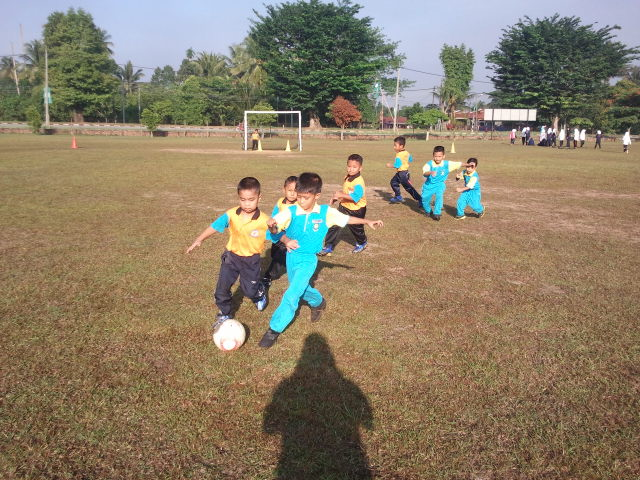 Pertandingan Bola Sepak 5 Sebelah Pra Sekolah Peringkat Zon Kamunting
