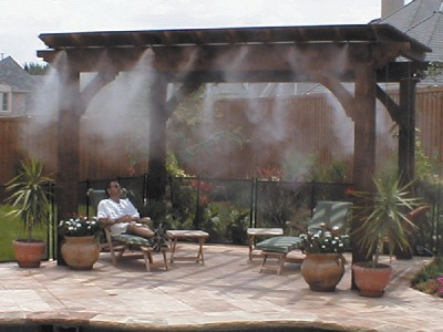 Nebulizadores para terrazas de bares