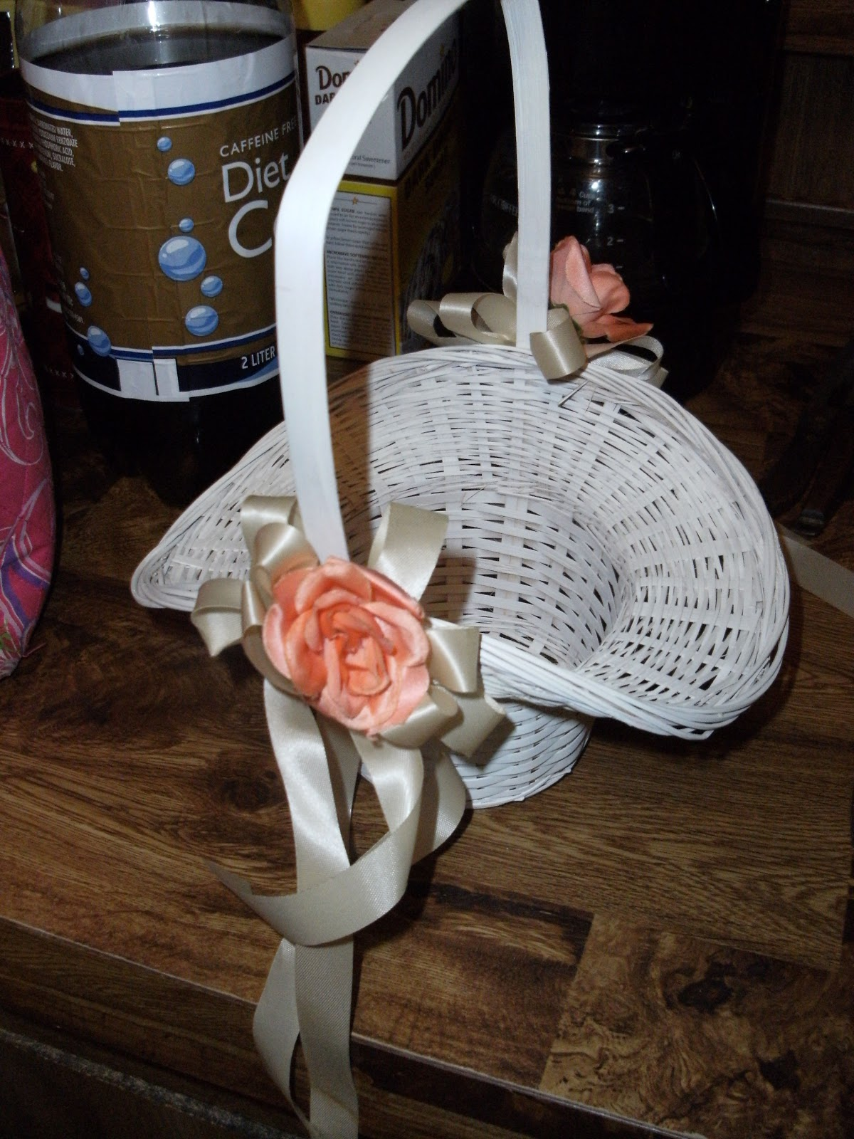 Beyond The Aisle Diy Flower Girl Basket