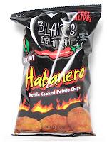Blair's Death Rain Habanero Potato Chips