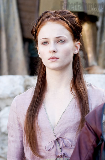 Kiss My Wonder Woman Sansa Stark Is The Coolest Chick In Westeros No Really