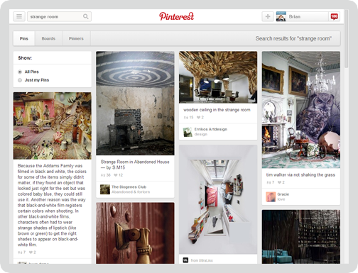 Pinterest Screen 7