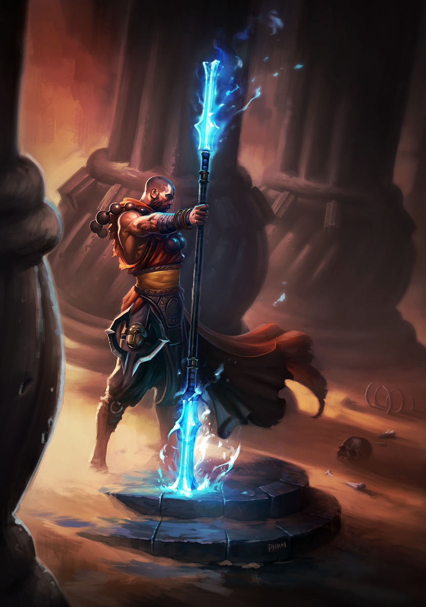 Diablo  Monk Builds