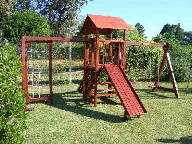 Juegos infantiles en madera para jard n imagui for Juegos de jardin infantiles de madera