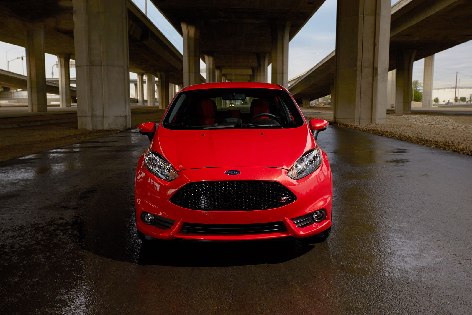 car in 2014 Ford Fiesta ST