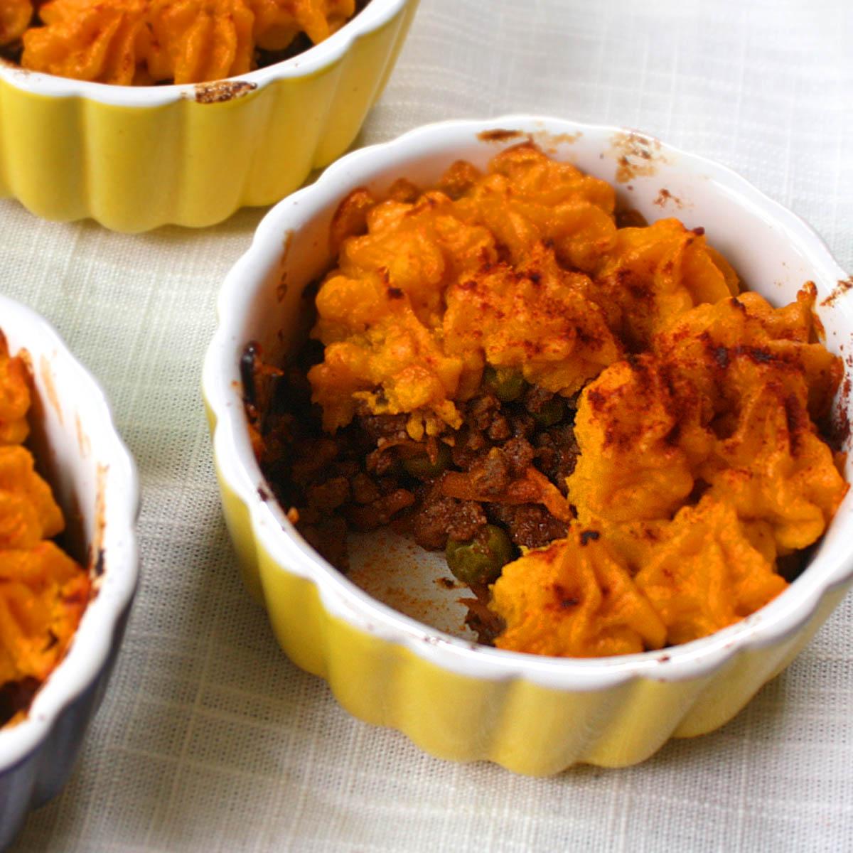 Mealpod: Mini Sweet Potato & Beef Shepherd's Pies