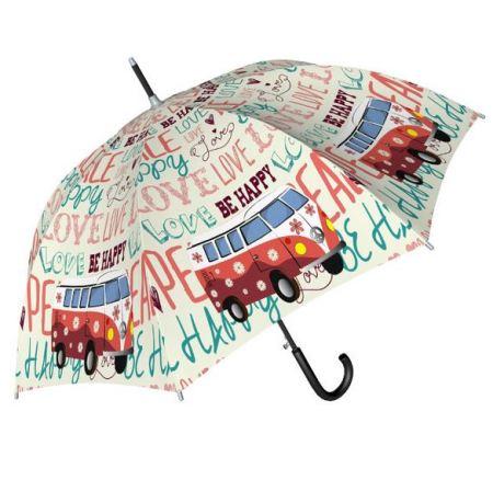 Paraguas estampado furgo